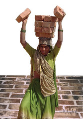 Women Lifting Bricks, India (2004)