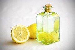 Lemon snaps (Hankins) Tags: stilllife food holiday glass fruit recipe bottle lemon drink swedish snaps ingredients vodka scandinavian iatethis schnapps svenska foodphotography akvavit drinkrecipe steeping brnnvin tumblr snapsvisor