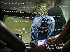 You're not... (SerialCoder) Tags: fightclub