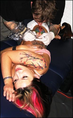 Tattoo Artist - Mike Barentine of Atomic Tattoo