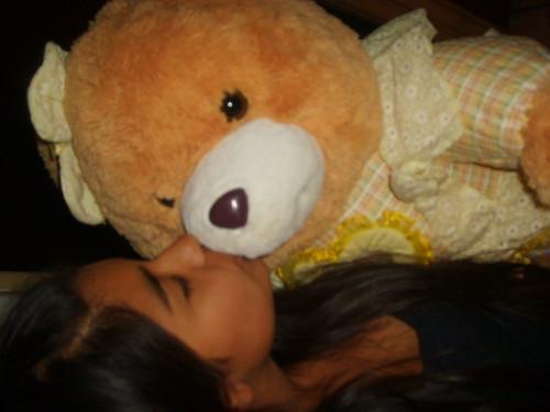 osos de amor. aaa mi amor kon suu oso.. ke le regale pa navidad :$ .. TE KERO MXO AMOR!