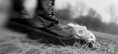 Demonias (oddworldofrobphotos) Tags: blackandwhite bw newyork blur lensbaby canon skeleton skull blackwhite buffalo parkinglot punk boots canon300d gothic goth theend rob gasmask canondigitalrebel buffalony asphalt desolate canondslr lensbabies desolation hottopic westernnewyork wny endoftheworld grandisland combatboots militaryboots westernny postapocalypse demonia darkfuture russiangasmask originallensbaby beaverislandpark demoniaboots childsgasmask demoniafierce130 oddworldofrob oddworldofrobphotos