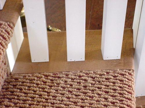 Open Maple Tread End Carpet Detail