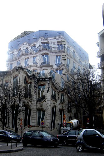 Weird house in Paris, France