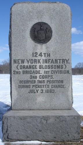 124th ny infantry gettysburg  pa