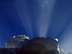 Rays of Sun   (Abdullah M) Tags: sky cloud fz20 saudi  sunrays