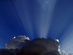 Rays of Sun   (Abdullah M) Tags: sky cloud fz20 saudi  sunrays