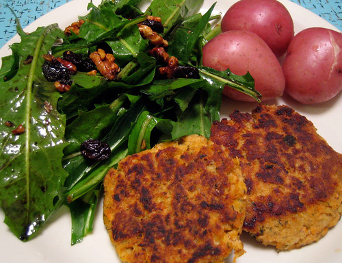 Salmon Patty Meal