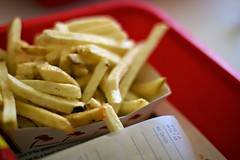 The best bit about In-n-out burger... (Tom Coates) Tags: food chips delicious fries innout