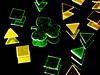 Alternate Version (jciv) Tags: desktop wallpaper macro reflection green psp gold foil confetti stpatricks shamrock stpatricksday raynox 430ex file:name=img0155