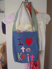 I love to Knit - New bag for me