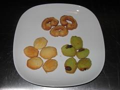 Ceci Cela Patisserie: Mini palmiers, Mini madeleines, Mini pistachio madeleines