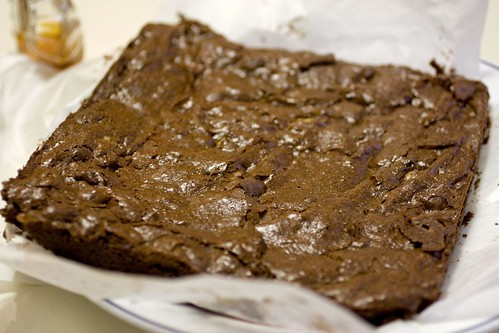 Cooling brownies