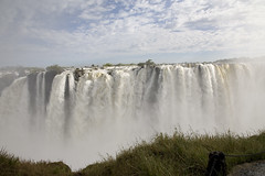 Victoria Falls - Africa's beauty and power (Len Abrams, ARPS - Photographer) Tags: africa park game nature water animals canon river season eos waterfall wildlife reserve images canon5d victoriafalls abrams canoneos zambia livingston zambezi seasonimages