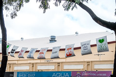 Bunting in Norwood (Serendigity) Tags: tdu tourdownunder 2017 norwood australia race sa southaustralia adelaide stage4 cycling event