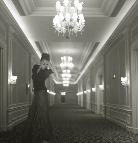 voices down the corridor