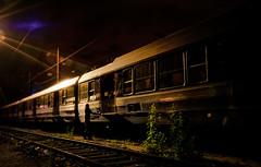 Bche Glace Argent (Vergio Graffito) Tags: light sky paris saint night train de wagon rail nuit argent chemin fer sncf ambiance glace lazare bche