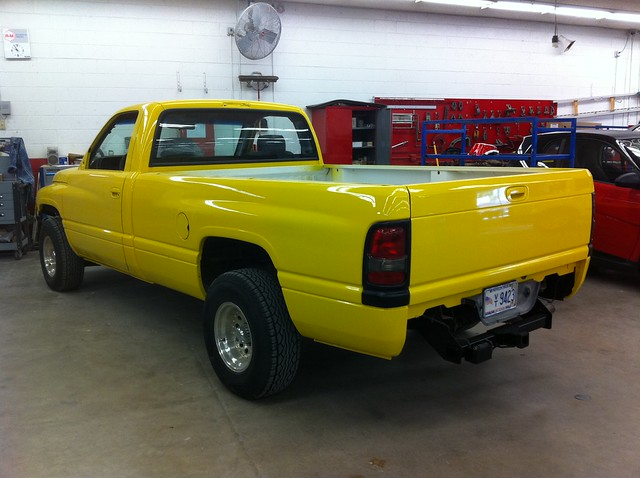 cameraphone pickup dodge 1995 ram notphotoshopped tempearizona iphone4 johnvosburgh steelertruck