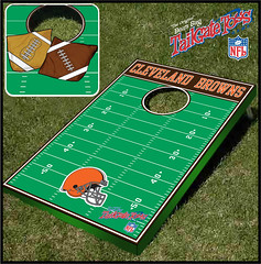 Cleveland Browns Bean Bag Toss Game