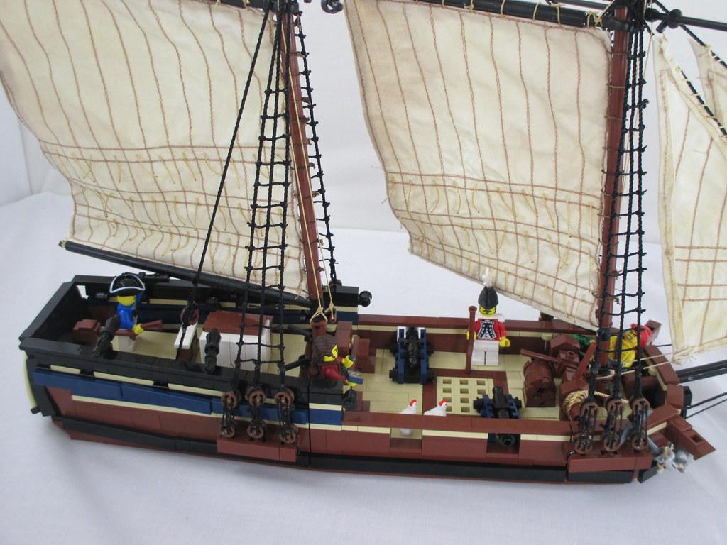 mr townsend tags ship marblehead lego pirates sail schooner ptc