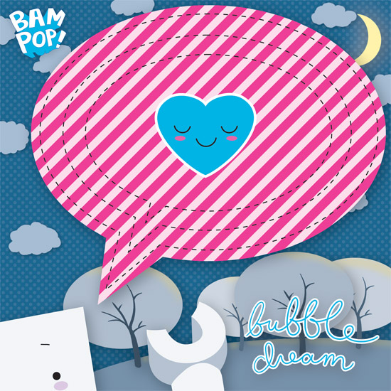 bubble dream chipboard