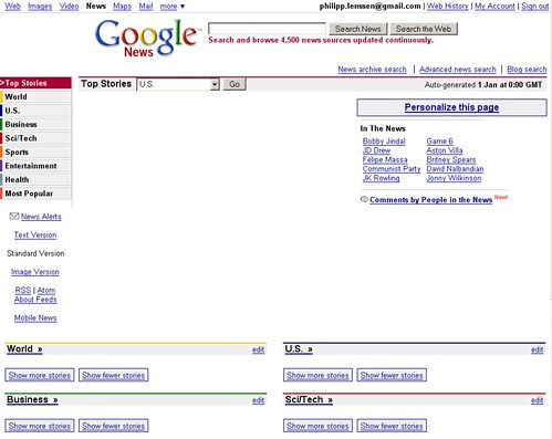 Google News leer