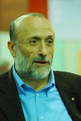 Carlo Petrini no Terra Madre 2006 - Foto: Marcos Alvarez
