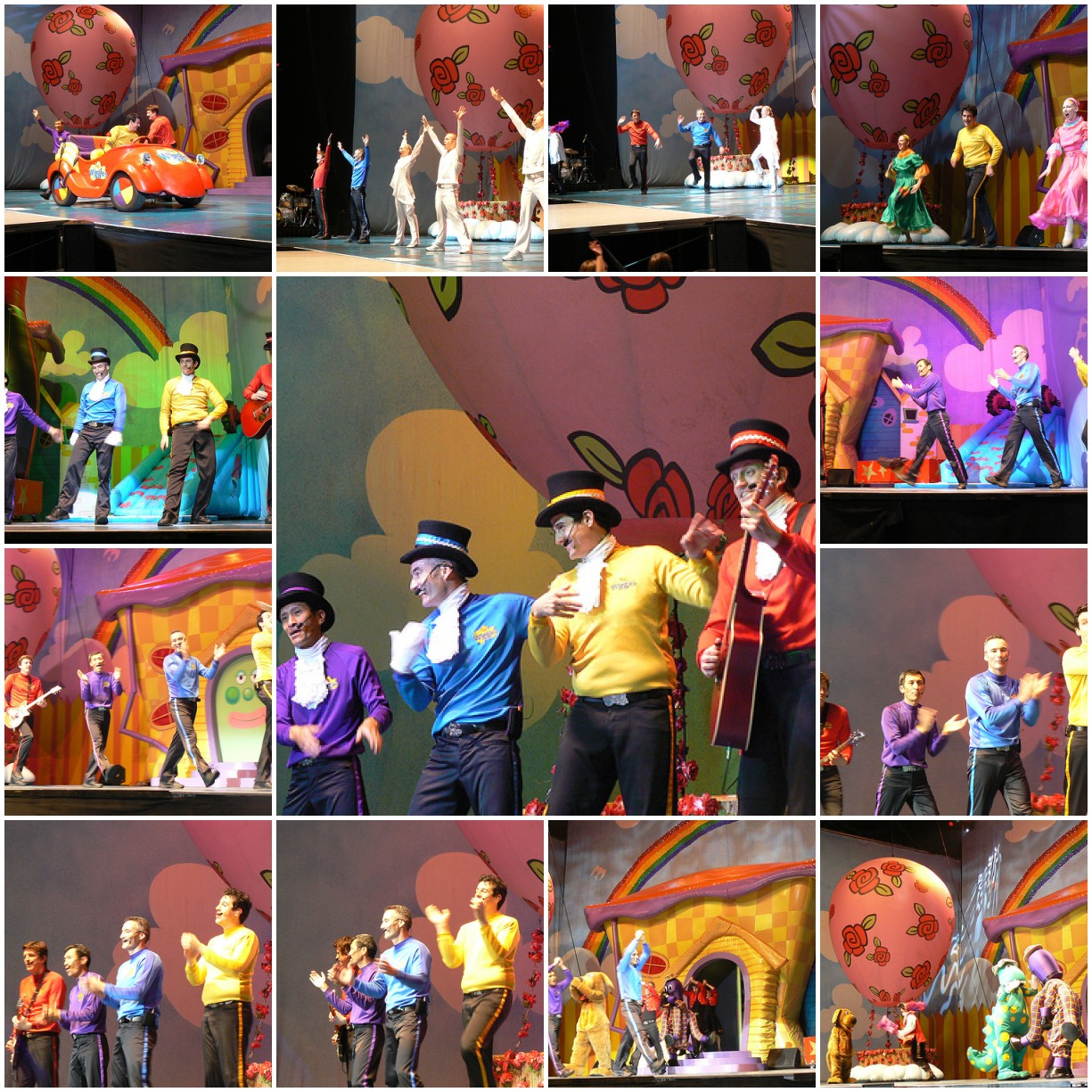 Lots of Wiggles & Wiggly Dancers Mosaic