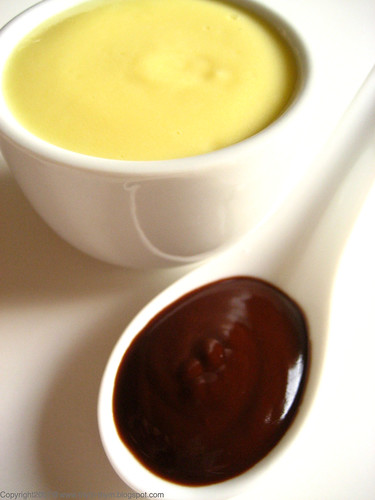 Custard and Chocolate