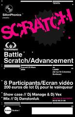 Print/ Flyer for a Dj Battle event verso ([GW] GrafikWar) Tags: poster design battle experimentation scratch graphique grafikwar