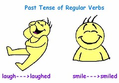 regular verbs cartoon