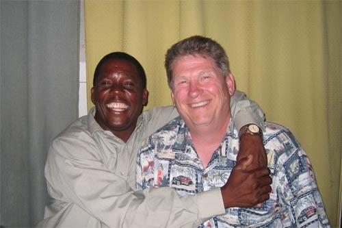 John Harvey and I