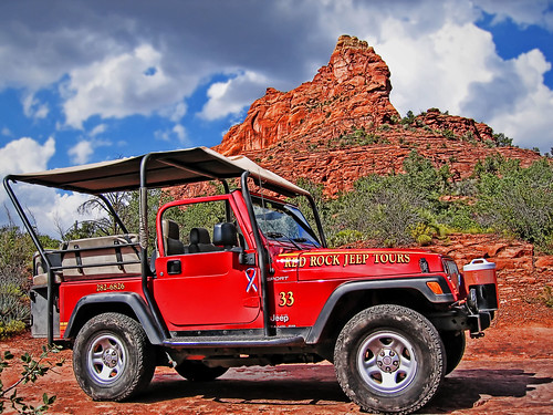 Red Rock Jeep Tour in Sedona Arizona