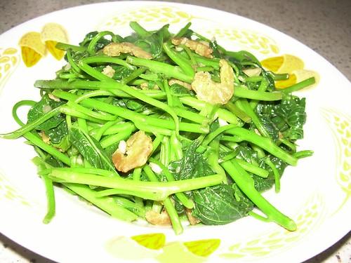 kangkong garlic