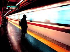 4 minutes/4 minuti (Raffaella@) Tags: urban roma underground metro ra waitingfor 35faves r passionphotography photoexplore mcb1503 cronacheurbane