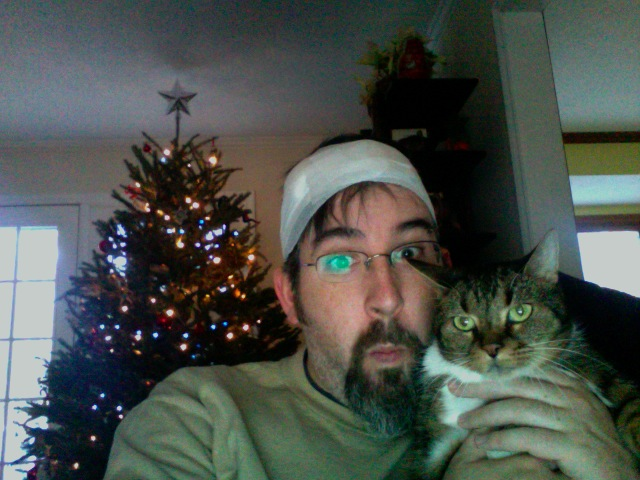 Liriel and I wish everyone a Merry Cyst-mas!