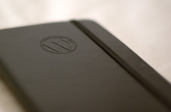 WordPress Moleskine notebook di Nikolay Bachiyski
