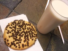 Horchata and cookie
