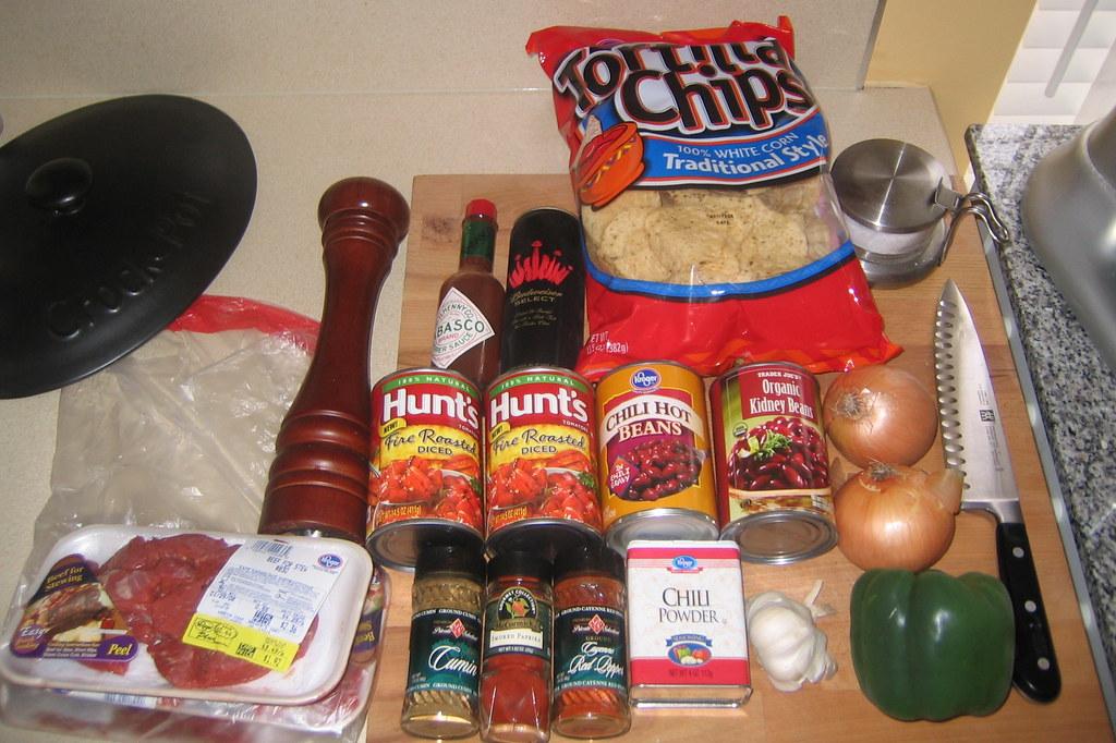 Photographic chili recipe?