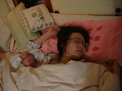 道緣與女兒涵涵的合照,像不像失散多年的雙胞?