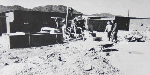 construction logements à Zouérate-
