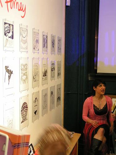 Ellen Forney's LUST exhibit opening, Fantagraphics Bookstore & Gallery, 02/09/08