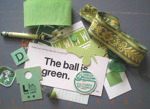 green mini inspiration pack