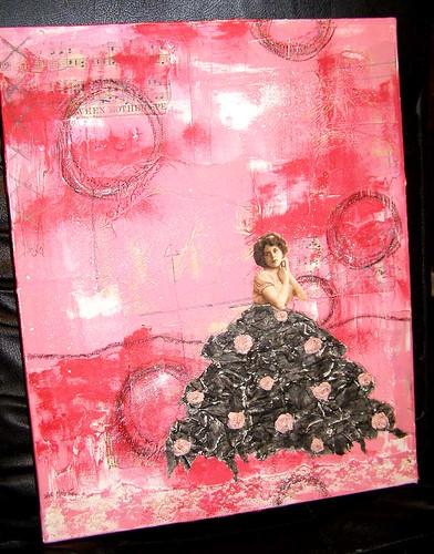 Paper Scraps Canvas