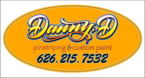 Danny D Sticker