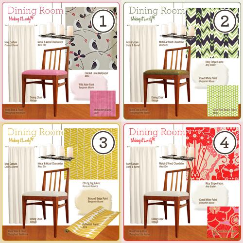Four Dining Room Ideas