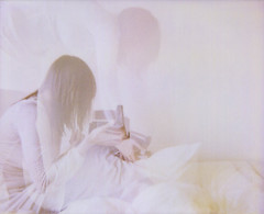 (maplesyruponly) Tags: selfportrait me polaroid doubleexposure spectra