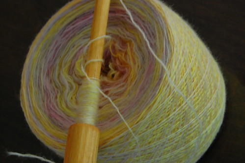 Think Spring handspun laceweight
