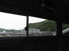 Zushi sta. 逗子駅の窓