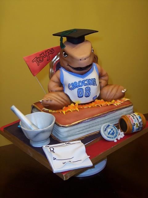 Steve Graduation Cake
